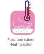 idromassaggio funzione calore