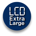 LCD extra large