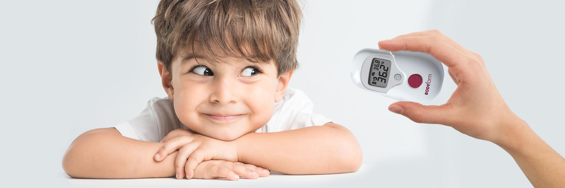 Misurazione febbre bambini
